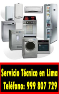 servicio tecnico linea blanca en Pachacámac
