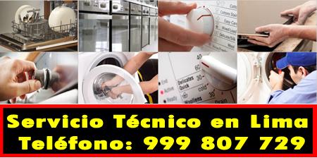 servicio tecnico linea blanca en Cieneguilla