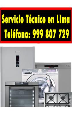 servicio tecnico linea blanca en San Borja