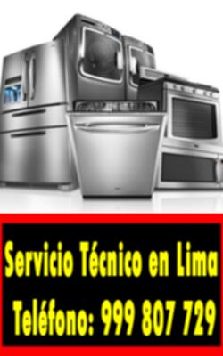 servicio tecnico linea blanca en Chaclacayo