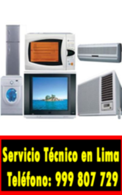 servicio tecnico linea blanca en Los Olivos