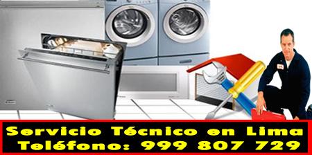 servicio tecnico linea blanca en El Agustino