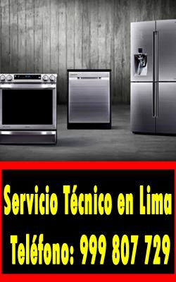 servicio tecnico linea blanca en Miraflores