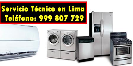 servicio tecnico linea blanca en La Molina