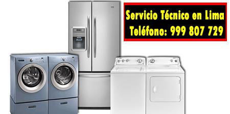 servicio tecnico linea blanca en Carmen de La Legua-Reynoso