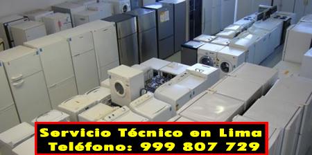 servicio tecnico linea blanca en San Martín de Porres