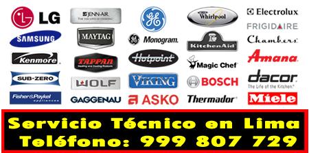 servicio tecnico linea blanca en Barranco