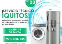 reparacion de refrigeradoras y lavadoras en iquitos